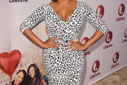Niecy Nash Print Dress