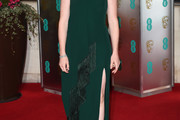 Claire Foy Strapless Dress