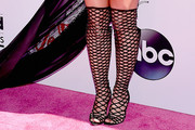 Britney Spears Cutout Boots