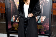 Maria Menounos Wool Coat