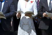Kate Middleton Embroidered Dress