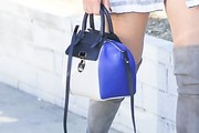 Olivia Munn Leather Tote