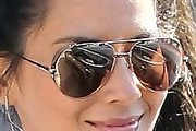 Olivia Munn Aviator Sunglasses