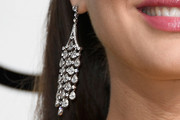 Natalie Portman Diamond Chandelier Earrings