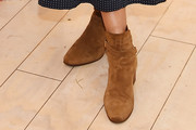 Jessica Alba Ankle Boots