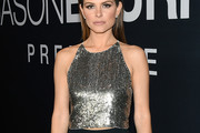 Maria Menounos Embellished Top