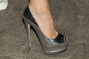 Kate Hudson Peep Toe Pumps