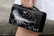 Kate Mara Printed Purse