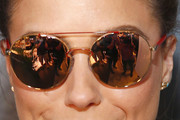 Sophia Bush Round Sunglasses