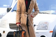 Vanessa Hudgens Wool Coat