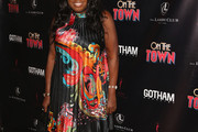 Star Jones Print Dress