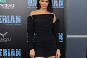 Kendall Jenner Off-the-Shoulder Dress
