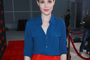 Claire Foy Button Down Shirt