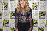 Rose McIver Sheer Top