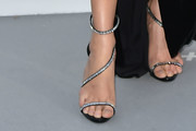Karlie Kloss Strappy Sandals