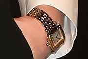 Kirsten Dunst Gold Bracelet Watch