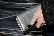 Rosie Huntington-Whiteley Metallic Clutch