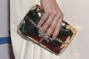Kesha Metallic Clutch