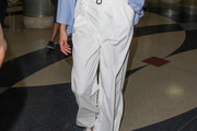 Karlie Kloss Wide Leg Pants