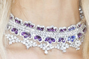 Karolina Kurkova Gemstone Choker Necklace