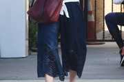 Isla Fisher Wide Leg Pants