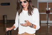 Alessandra Ambrosio Long Sleeve T-Shirt