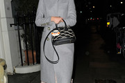Alexa Chung Evening Coat