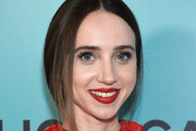 Zoe Kazan Loose Braid