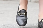 Dianna Agron Casual Loafers