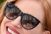 Jessica Chastain Cateye Sunglasses