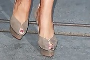 Sofia Vergara Peep Toe Pumps