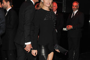 Amber Valletta Little Black Dress