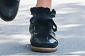 Nicky Hilton Leather Sneakers