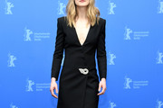 Rosamund Pike Tuxedo Dress
