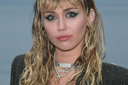 Miley Cyrus Long Curls with Bangs