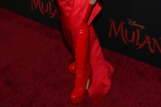 Christina Aguilera Over the Knee Boots
