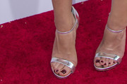 Aubrey Plaza Strappy Sandals