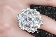 Charlize Theron Diamond Ring