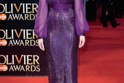 Gemma Arterton Beaded Dress