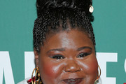 Gabourey Sidibe Braided Updo