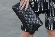 Katy Perry Quilted Clutch