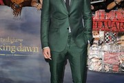 Robert Pattinson Men's Suit