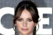 Felicity Jones Retro Updo