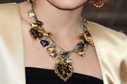 Madison Leisle Bronze Statement Necklace