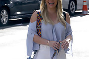 Hilary Duff Loose Blouse