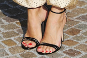 Chloe Sevigny Strappy Sandals