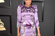 Taraji P. Henson Embroidered Dress