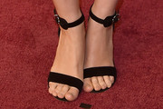 Rooney Mara Strappy Sandals