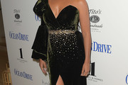 Camila Alves One Shoulder Dress