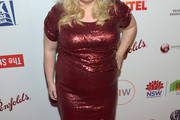 Rebel Wilson Sequin Dress